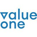 Logo value one development GmbH